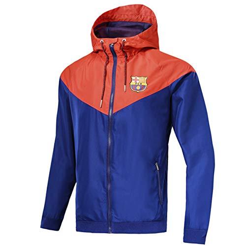Bǎrcělǒnǎ Fútbol Jersey Camiseta de fútbol Sportswear ocurrewear Chaqueta Capacitación de Ropa, Secado rápido Ligero Transpirable, Hombres Adultos Hombres Adultos En XXL