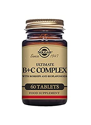 Solgar Ultimate B Plus C Complex Tablets - Pack of 60