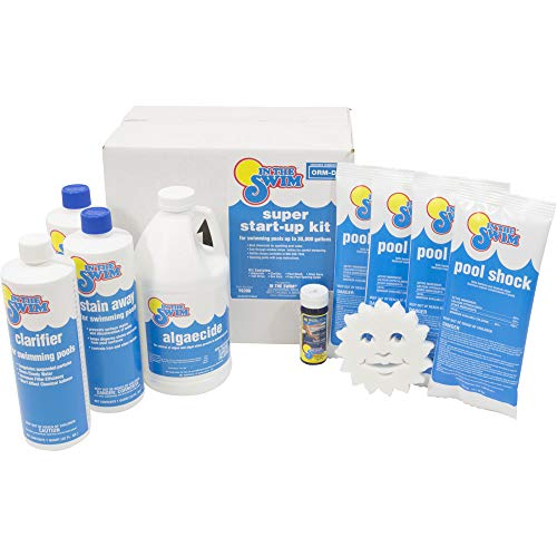 In The Swim Super Pool Opening Chemical Start Up Kit - Up to 30,000 Gallons