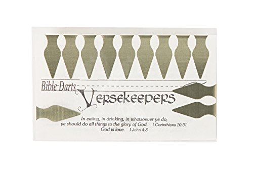 Verse Keepers 12 Count Brass Book Darts Pack