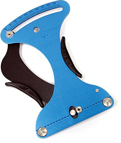 Park Tool spaakspanningsmeter TM, blauw, 24,13 cm
