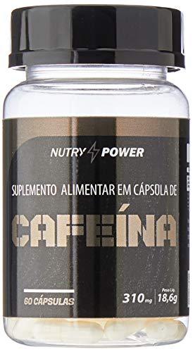 Cafeína Super 310mg (60caps), Nutry Power