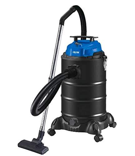 DMS 4 in 1 Industriestaubsauger 1800 Watt | Nasssauger | Aschesauger | Trockensauger | Staubsauger | beutellos | 30 Liter | Mehrzwecksauger | Blasfunktion | Blau