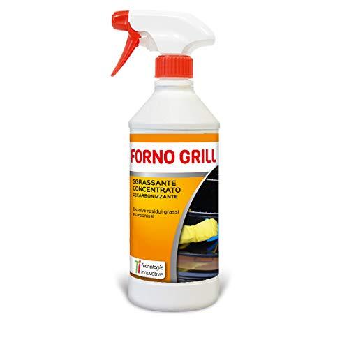 Tecnologie Innovative Forno Grill Sgrassatore Concentrato Decarbonizzante, Ideale per Forni, Griglie, Barbecue e Cappe 750 ml