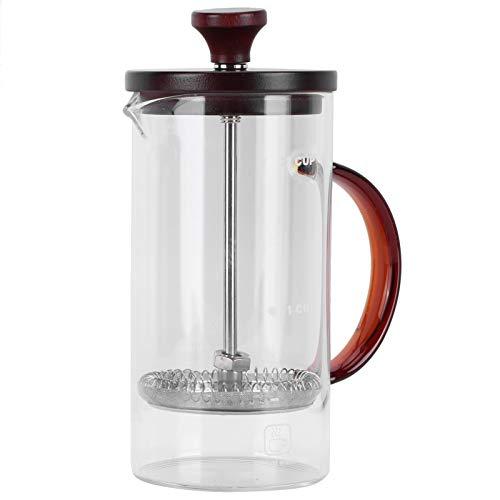 Dzbanek do kawy, prosty w obsłudze, łatwy w użyciu, ekspres do kawy Pojemność dzbanka 400 ml ekspres do kawy, do gorącej czekolady i kawy cappuccino