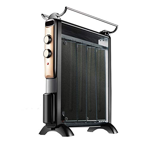 Best Deals! DW&HX Mica Heater, Electric Quiet Tip-Over Protection Radiant Heater, Space Heater with ...