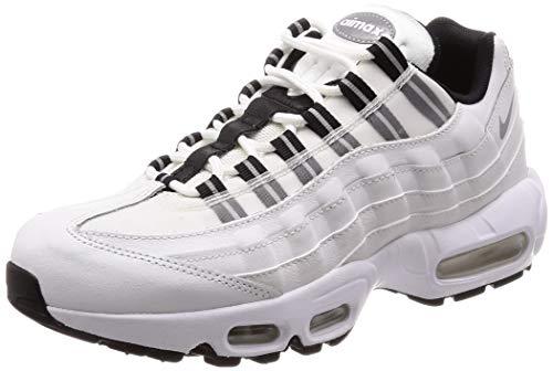 Nike Wmns Air Max 95, Scarpe da Ginnastica Basse Donna, Bianco (White 307960-113), 36 1/2 EU