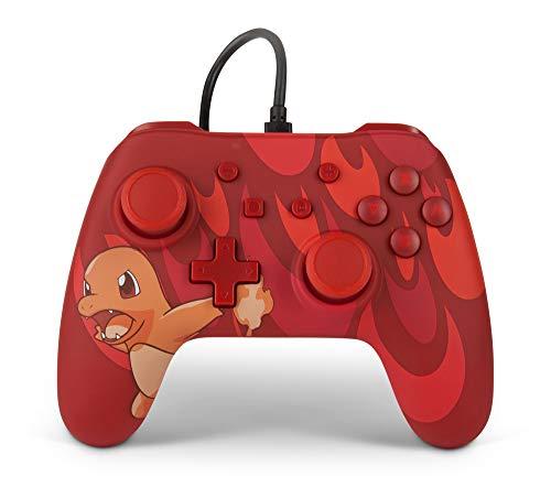 PowerA Kabelgebundener Pokémon-Controller für Nintendo Switch: Glumanda Großbrand