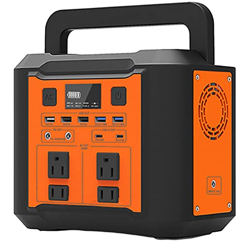 Grupo electrogeno Generador Solar Al Aire Libre, Fácil De Transportar La Fuente De Alimentación De Emergencia Para Fallas De Energía, Banco De Energía Que Puede Admitir Cargador De Automóv(Color:500w)