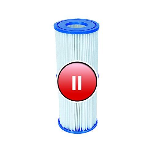 4 Stück Bestway Filter Kartuschen für Pool Swimmingpool Pumpen Intex Bestway/Gr. 2