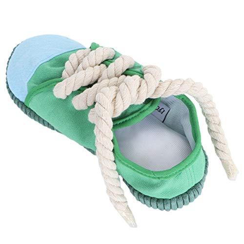 VILLCASE Hund Kauspielzeug Hund Quietschen Spielzeug Mini Sneakers Schuhe Spielzeug für Welpen Kleine Mittelgroße Hunde Vögel Katzen Frettchen Kaninchen Meerschweinchen Und Kleine Tiere