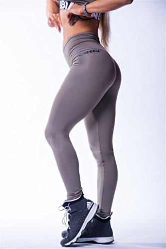 Nebbia Women's B07DQLD3NB Damen HIGH Waist Scrunch Butt Leggings 604 Fitness, Hosen, Pants, Aerobic (Mocha, M), M
