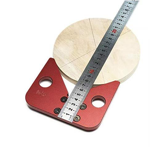 Pannow - Regla de medición de madera (45 grados)