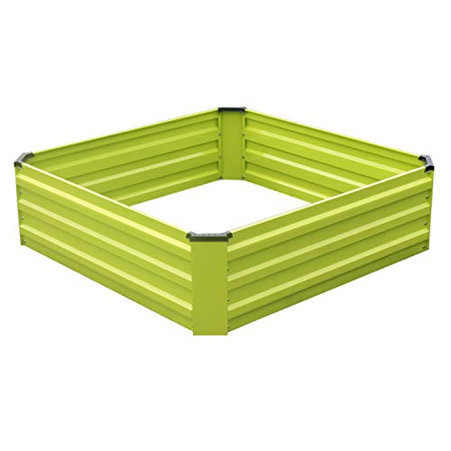 Raised Garden Bed Kit for Vegetables Flower Metal Planter Boxs Designed for Easy DIY and Cleaning...