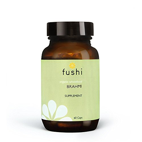 Fushi Organic Brahmi Capsules, 60 Caps | Fresh-Ground Whole Food | Memory Boosting Properties | Bio-dynamically Grown | Cold Processed & 100% Raw | Ethical & Vegan | Made in the UK