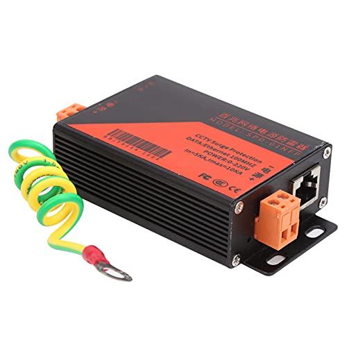 Sistema di Monitoraggio Ethernet Surge Protector PoE Soppressore di Fulmini RJ45 per la Sicurezza