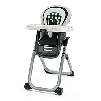Graco DuoDiner DLX 6 in 1 High Chair | Converts to Dining Booster Seat Youth Stool and More Kagen