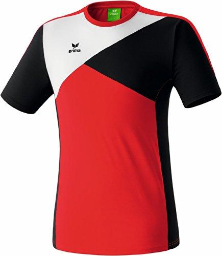 erima Erwachsene Premium One T-Shirt T-shirts & Polos, Rot/Schwarz/Weiß, L