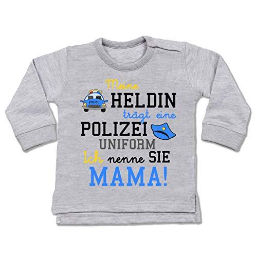 Baby T-Shirt Kurzarm Shirtracer Vatertag Baby Papas Bester Schuss
