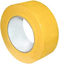 Cannon Sports Yellow 2-inch X 60 Yards Floor Marking Tape
