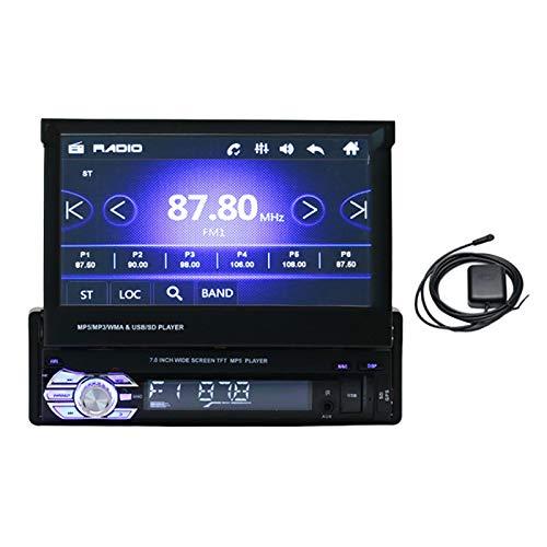 TISHITA 9601G 1 DIN Auto Stereo Radio Bluetooth MP5 Player 800 * 480 - Standard di
