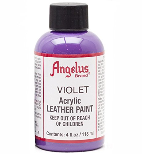 Angelus Leather Paint 4 oz Violet