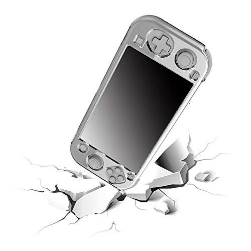 globalqi Andockbare Switch-Hülle für Nintendo, Schutzhülle mit festem Träger Klare Hülle Crystal Case Zubehör für Nintendo Switch Console Joy Con Controller