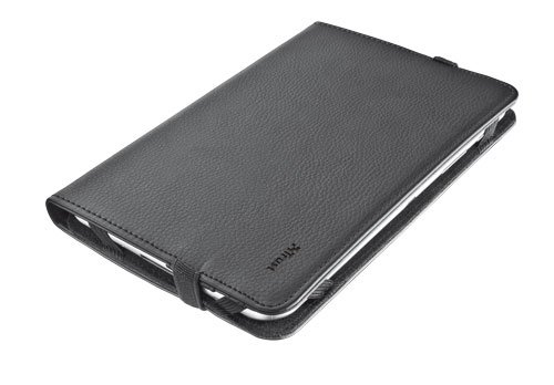 Trust Verso - Funda para Tablet de 7-8 Pulgadas (Soporte de sobremesa), Negro