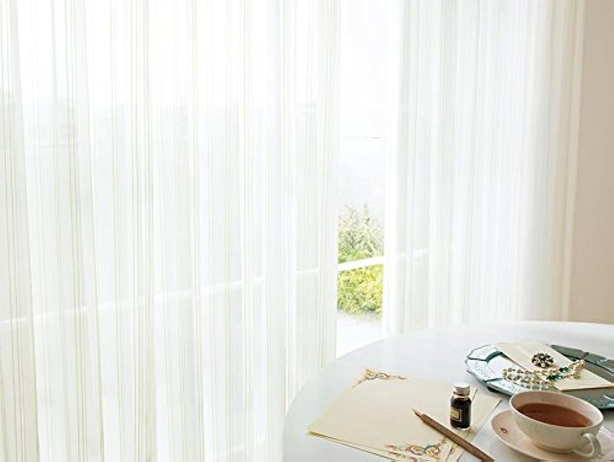 ページ独立して間に合わせ東リ ラメ糸と色糸でゆらぎを表現した遮熱レース カーテン1.5倍ヒダ KSA60442 幅:100cm ×丈:240cm (2枚組)オーダーカーテン