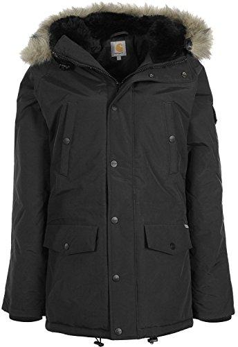 Carhartt Damen W' Anchorage Parka Jacke, Schwarz (Black/Black), M