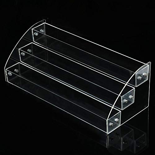 Vernis à ongles durable - 6 types Vernis à ongles durable Acrylique Maquillage transparent Présentoir Rack Organisateur Titulaire(3p)