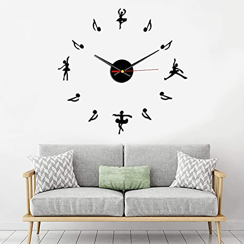 Reloj De Pared 3D Silenciar DIY, BKJJ...