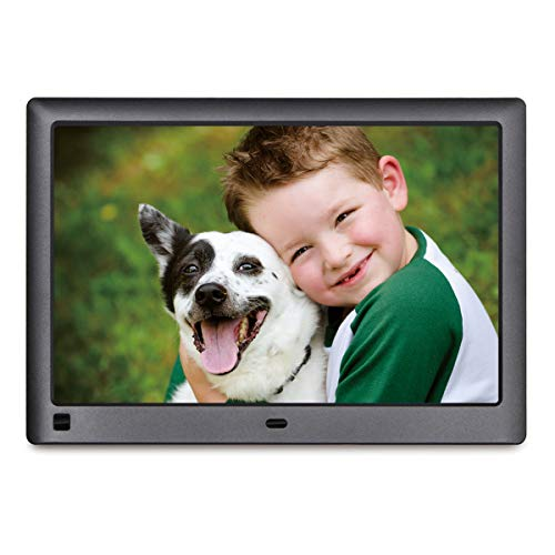 LOVCUBE 10.1 Inch Digital Photo Frame L10X - Digital Picture Frame with 1280 x 800 HD 16:10 IPS Display, Motion Sensor, USB and SD Card Slots and Remote Control