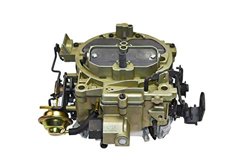 "A-Team Performance 1901GG Carburetor""OEM GREEN"" Remanufactured Rochester Quadrajet 4MV Compatible with 1966-73"