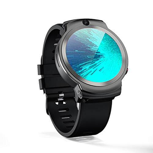 LXZ 1,6-Zoll-Bildschirm Dual-Kamera-Videoanruf 4G, Gesicht ID32G 1280Mah Smartwatch Android 3G 32G WiFi Männer Beobachten Mobile GPS-Smart-Uhr