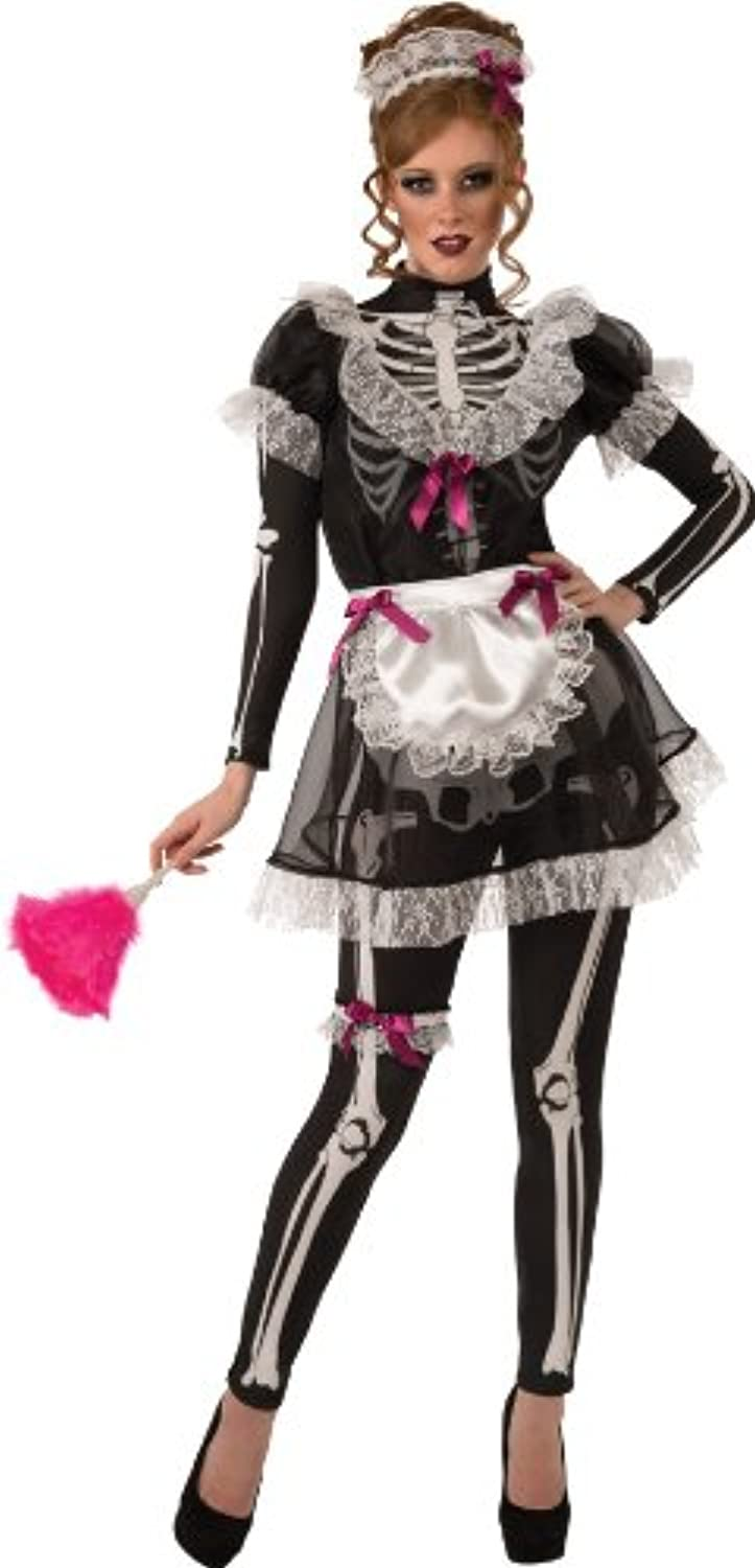 Rubie′s Skeleton Costume for Women Size S Maid and STD