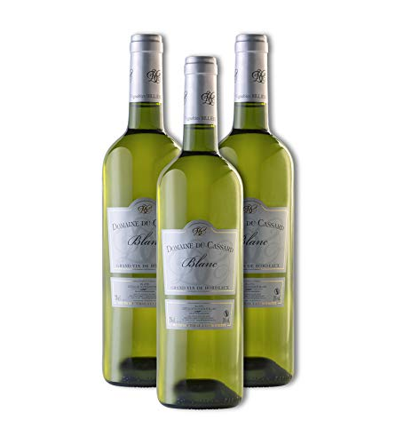Vino tinto- Bordeaux Vino Tradition-Domaine du Cassard-Medalla de plata - Caja de 6 botellas (6X750 ml)