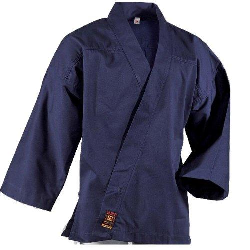 DanRho Meditations- und Qi Gong Anzug blau Größe XL (180-190cm)