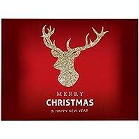 プレースマットクリスマスプレースマットクッションパターンプレースマットテーブルマット防水滑り止め耐熱プレースマットクリスマスデコレーション用4pcs,Q