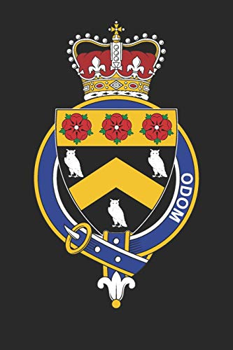 Odom: Odom Coat of Arms and Family Crest Notebook Journal (6 x 9 - 100 pages)