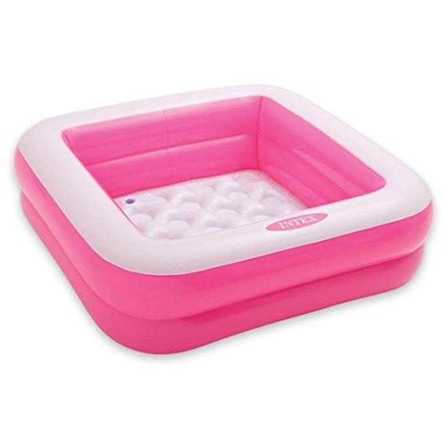 Intex Intex Aadoo Square Kids Bath Tub, 3Ft (Pink)