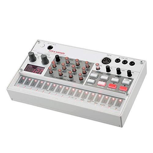 Asdomo VOLCA Sample Sintetizador de Secuencia Digital portátil de muestras Máquina de Ritmo de reproducción