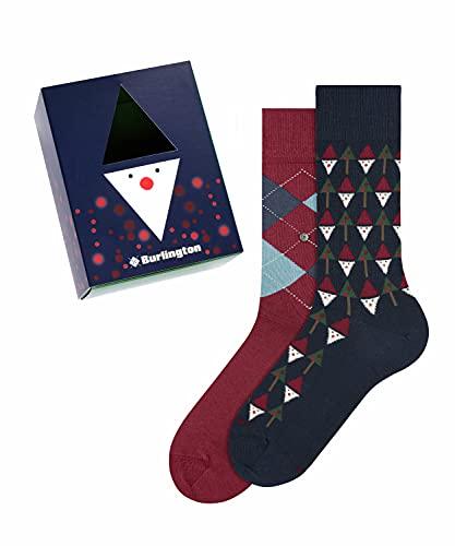 Burlington Herren X-Mas Gift Box M SO Socken, Mehrfarbig (Sortiment 0020), 40-46 (UK 6.5-11 Ι US 7.5-12)