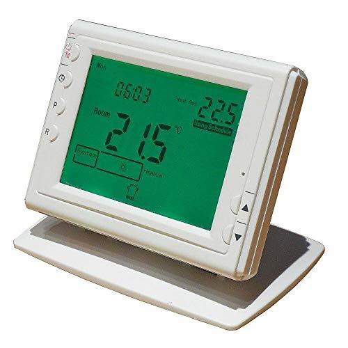Bravo Crono - Termostato (RF, Blanco, Botones, LCD, CC/Batería, AA)