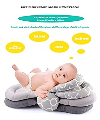 DFD Multi-Function Breast Feeding Pillow Maternity Nursing Pillow,Best for Mom,Adjustable Height by DFD