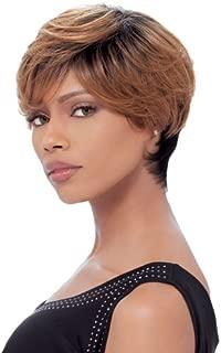 Sensationnel Bump Human Hair Wig - FEATHER CHARM (1 - JET BLACK)