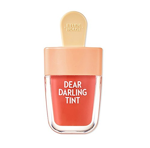 Etude House 2017 NEW Dear Darling Water GEL Tint (4.5g 0.15 oz) Ice Cream Package (OR205)...