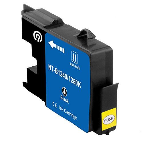 Original NINETEC NT-B1240/1280K Tintenpatrone kompatibel mit Brother LC1240/1280 Black