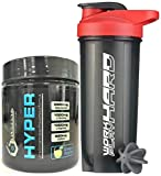 6th Element's HYPER Pre-workout - Green Apple with free iShake shaker worth INR
