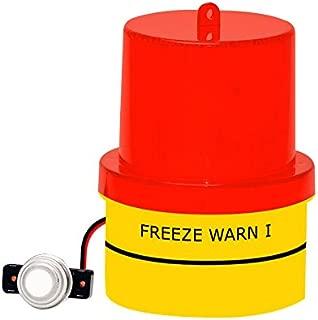 Freezing Temp Alert, Freeze Warn Light: FLASHES below 42°F